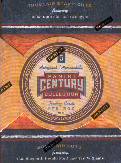 2010 Panini Century Collection Trading Cards Box