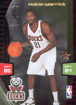 2009-10 Adrenalyn XL Extra #28 Hakim Warrick