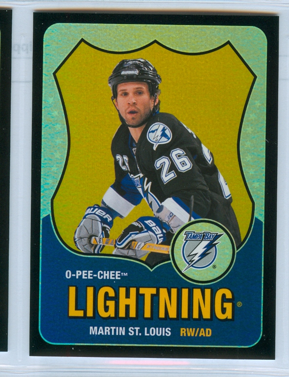 2010-11 O-Pee-Chee Retro Black Rainbow #317 Martin St. Louis