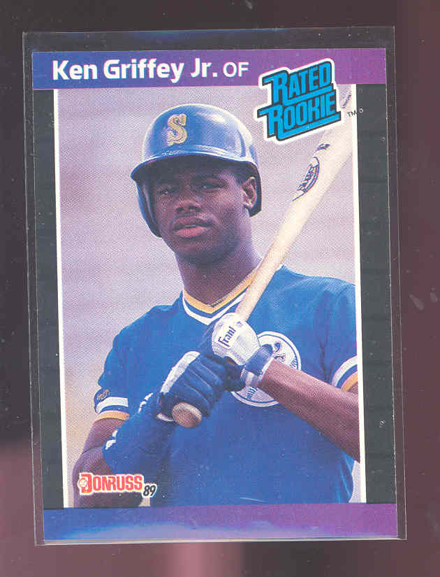 1989 Donruss #33 Ken Griffey Jr. rookie card NM-MT (01)