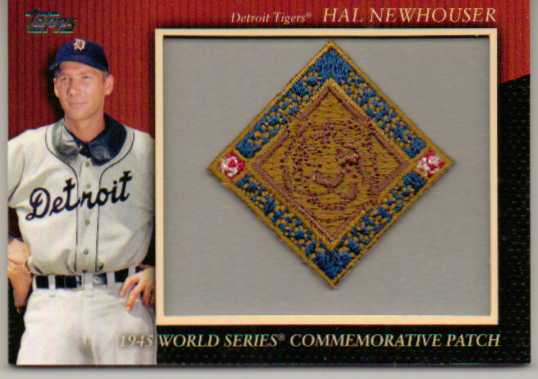 2010 Topps Commemorative Patch #MCP76 Hal Newhouser