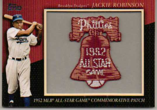2010 Topps Commemorative Patch #MCP91 Jackie Robinson