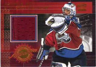 2000-01 Pacific Jerseys #3 Patrick Roy