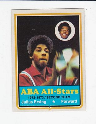 1973-74 Topps #240 Julius Erving AS2