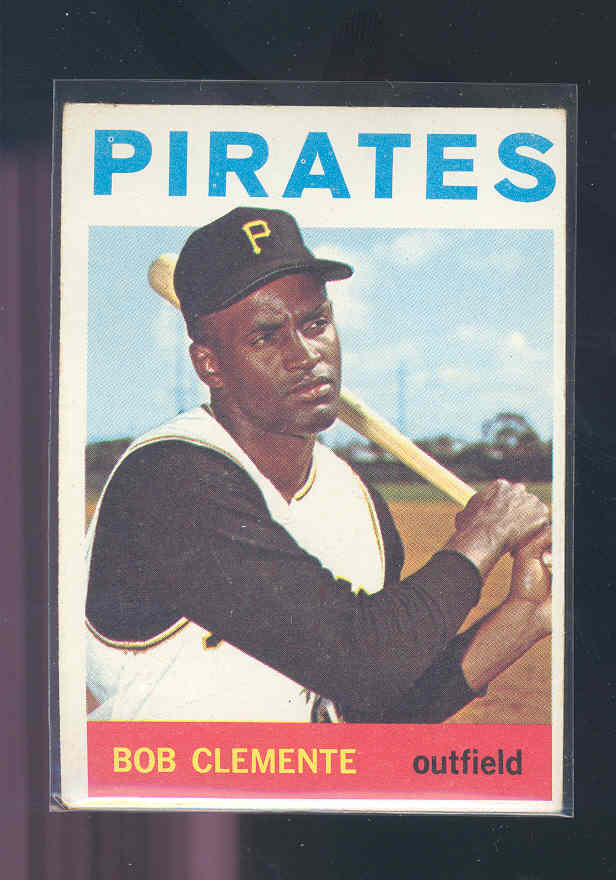 1964 Topps #440 Roberto Clemente UER/1960 Pittsburfh
