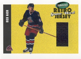 2002-03 Parkhurst Retro Jerseys #RJ10 Rick Nash