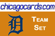 2011 Topps Series 1 Detroit Tigers 10-Card Team Set