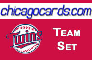 2011 Topps Series 1 Minnesota Twins 12-Card Team Set