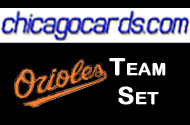 2011 Topps Series 1 Baltimore Orioles 10-Card Team Set