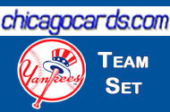 2011 Topps Series 1 New York Yankees 12-Card Team Set