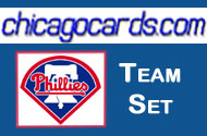 2011 Topps Series 1 Philadelphia Phillies 12-Card Team Set + 3 Topps Town