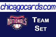 2011 Topps Series 1 Washington Nationals 9-Card Team Set