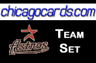 2011 Topps Series 1 Houston Astros 7-Card Team Set + 1 Topps Town