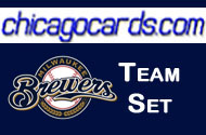 2011 Topps Series 1 Milwaukee Brewers 11-Card Team Set + 1 Topps Town