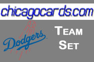 2011 Topps Series 1 Los Angeles Dodgers 8-Card Team Set + 1 Topps Town