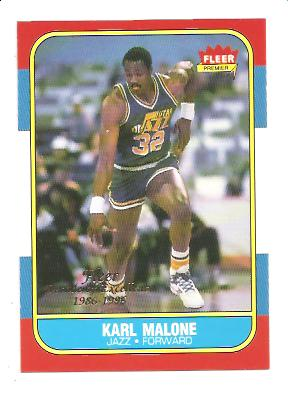 1996-97 Fleer Decade of Excellence #5 Karl Malone