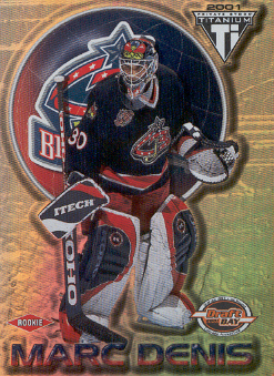 2000-01 Titanium Draft Day Edition #113 Marc Denis