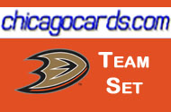 Anaheim Ducks 2010-11 Score 18-card Team Set with Rookies