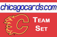 Calgary Flames 2010-11 Score 15-card Team Set