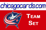Colombus Blue Jackets 2010-11 Score 18-card Team Set with Rookeis