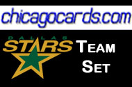Dallas Stars 2010-11 Score 17-card Team Set w/ Rookies