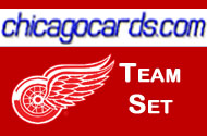 Detroit Red Wings 2010-11 Score 17-card Team Set
