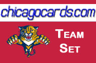 Florida Panthers 2010-11 Score 17-card Team Set with Rookies