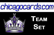 Los Angeles Kings 2010-11 Score 18-card Team Set with Rookies