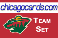 Minnesota Wild 2010-11 Score 19-card Team Set with Rookies