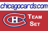 Montreal Canadiens 2010-11 Score 24-card Team Set with Rookies