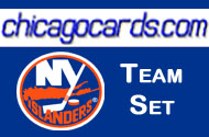 New York Islanders 2010-11 Score 20-card Team Set with Rookies