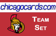 Ottawa Senators 2010-11 Score 18-card Team Set with Rookies