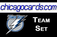 Tampa Bay Lightning 2010-11 Score 18-card Team Set with Rookies