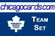 Toronto Maple Leafs 2010-11 Score 19-card Team Set with Rookies