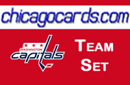 Washington Capitals 2010-11 Score 16-card Team Set