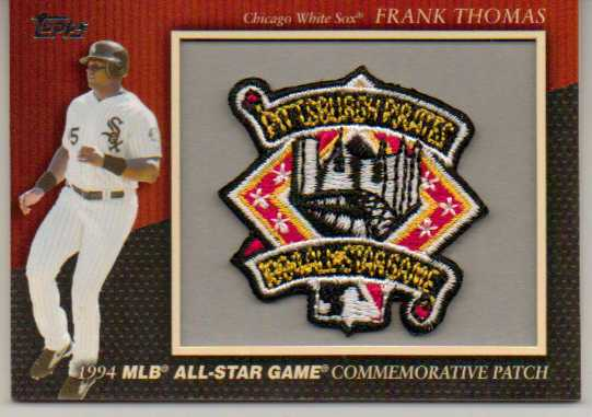 2010 Topps Commemorative Patch #MCP33 Frank Thomas