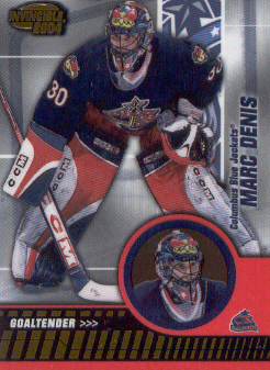 2003-04 Pacific Invincible #27 Marc Denis