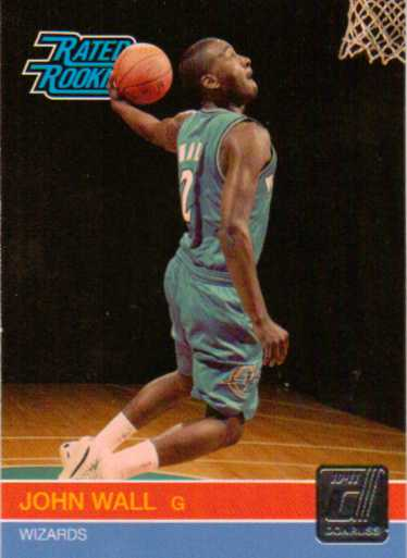 2010-11 Donruss #228 John Wall RC
