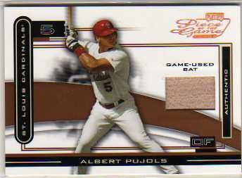 2003 Playoff Piece of the Game Bronze #5 Albert Pujols Bat