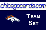 Denver Broncos 2010 Topps 13-Card Team Set with Rookies + 2 Attax