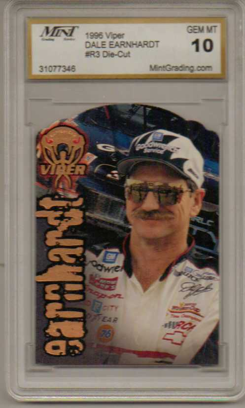 1996 Viper Copperhead Die Cuts #1 Dale Earnhardt