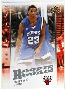 2008-09 Upper Deck First Edition Rookie Standouts #RSDR Derrick Rose