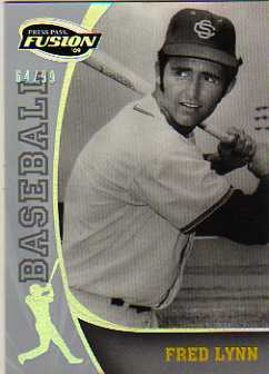 2009 Press Pass Fusion Silver #5 Fred Lynn