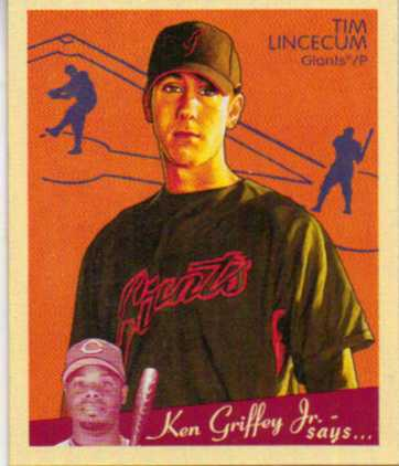 2008 Upper Deck Goudey Mini Red Backs #159 Tim Lincecum