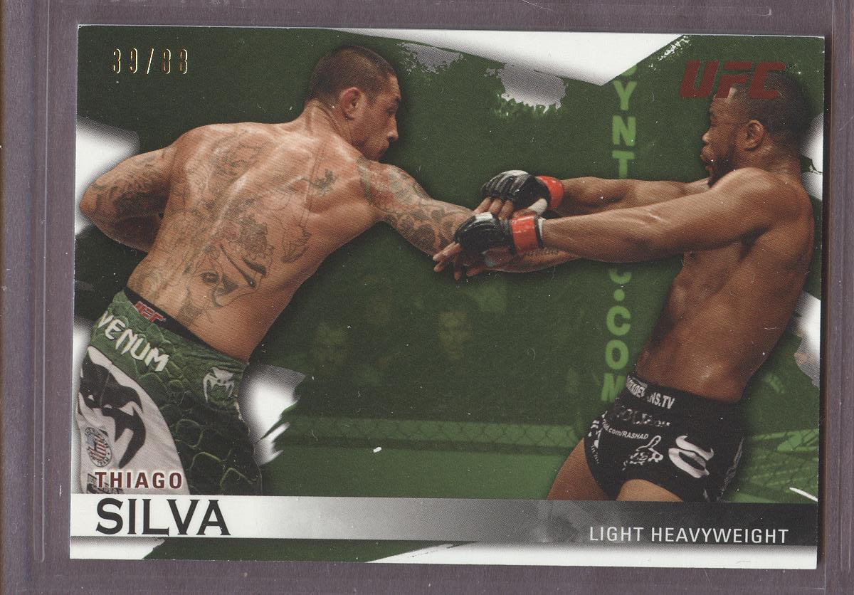 2010 Topps UFC Knockout Green #40 Thiago Silva