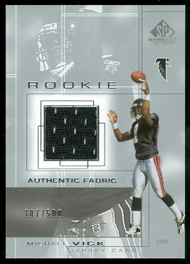 2001 SP Game Used Edition #91 Michael Vick JSY RC