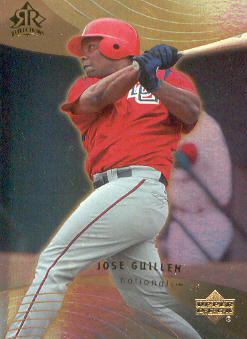 2005 Reflections #36 Jose Guillen
