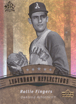 2005 Reflections #186 Rollie Fingers LGD