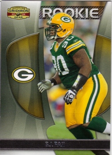 2009 Donruss Gridiron Gear #110 B.J. Raji RC