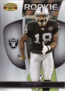 2009 Donruss Gridiron Gear #171 Louis Murphy RC